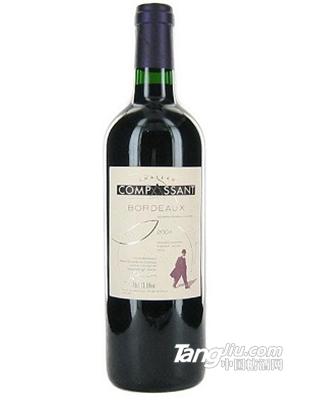 康柏桑酒庄红葡萄酒