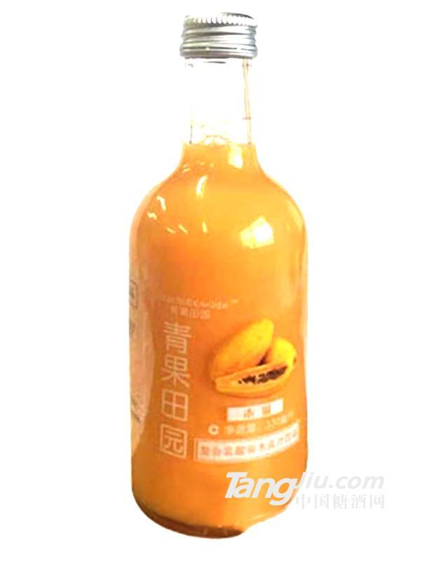 青果田园复合乳酸菌木瓜汁饮料330ml