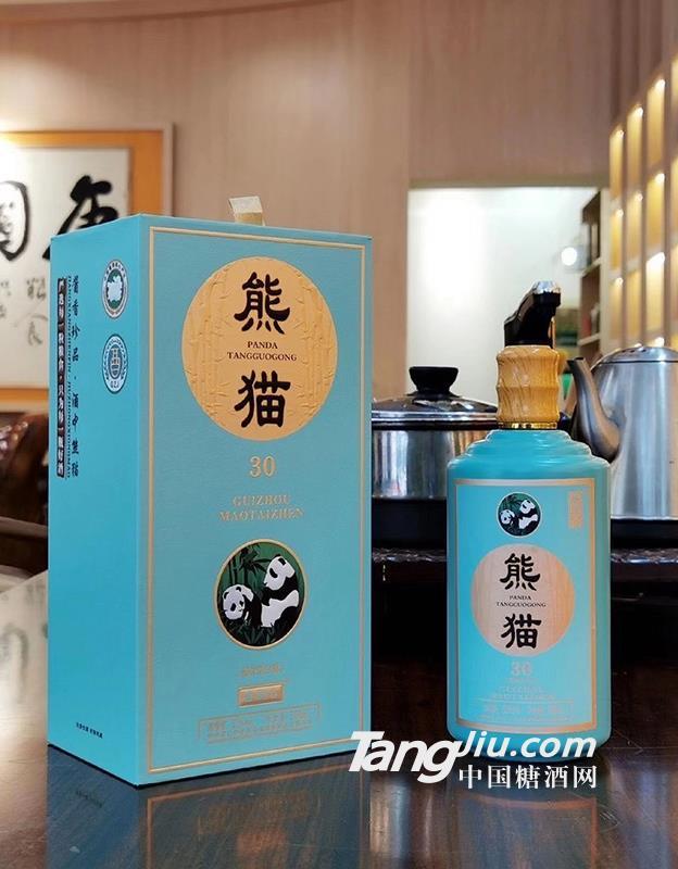 珍品熊猫酒53%vol500ml
