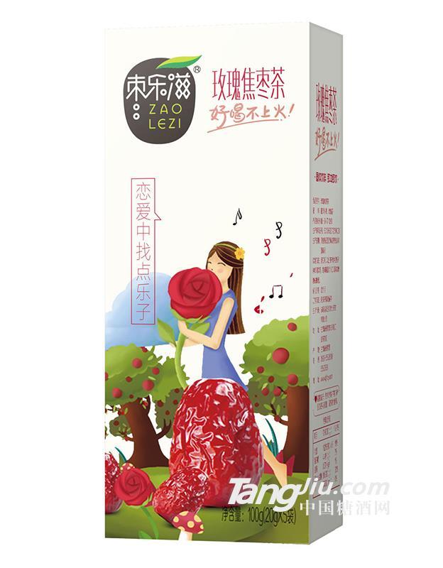 玫瑰焦枣茶100g