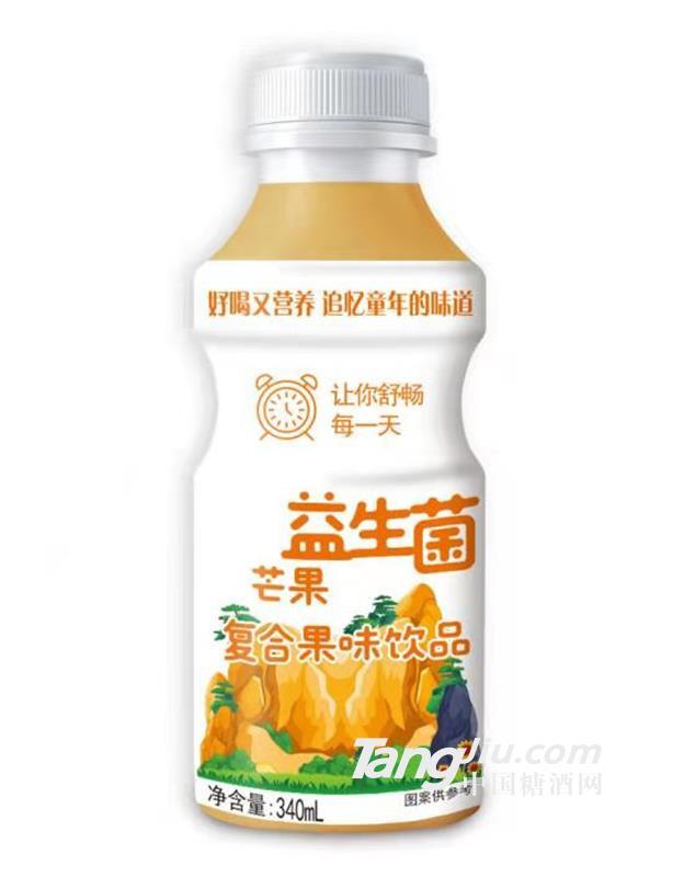 益生菌芒果味复合果味饮品