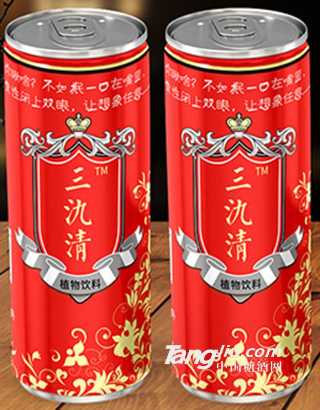三氿清植物饮料红罐310ml