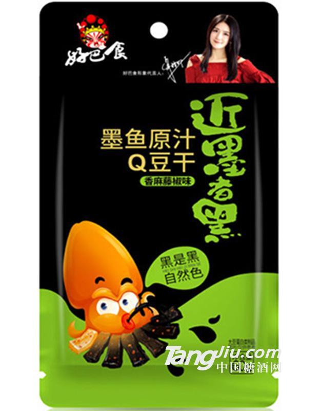 墨鱼原汁Q豆干(香麻藤椒味)60g