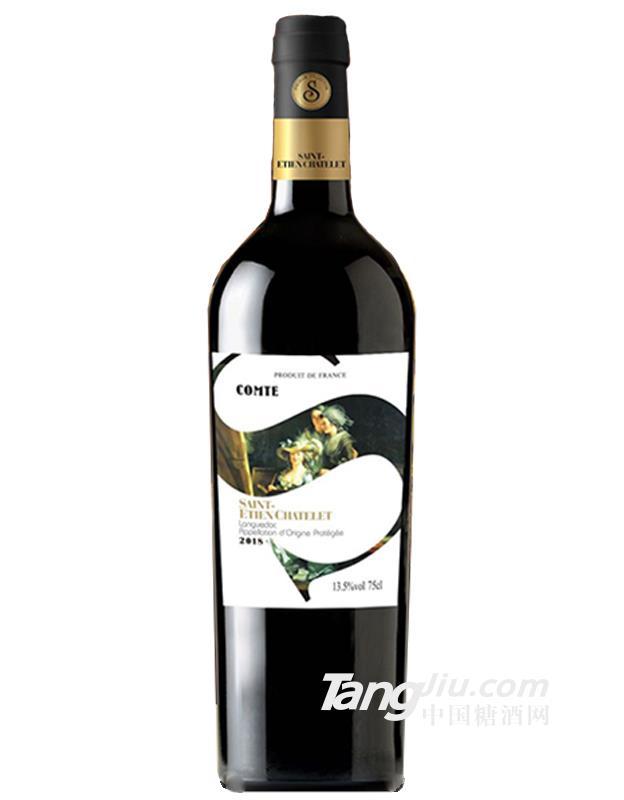 圣蒂城堡伯爵干红葡萄酒