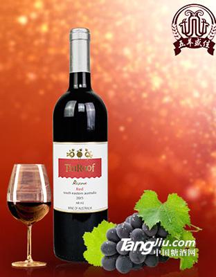 葶茹珍藏红葡萄酒