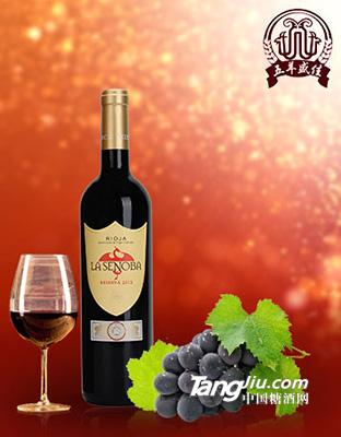 拉圣奴堡珍藏红葡萄酒