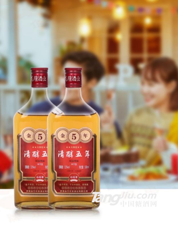 11°金5年石龙堰黄酒500ml
