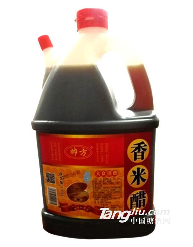 帅方香米醋1.75L