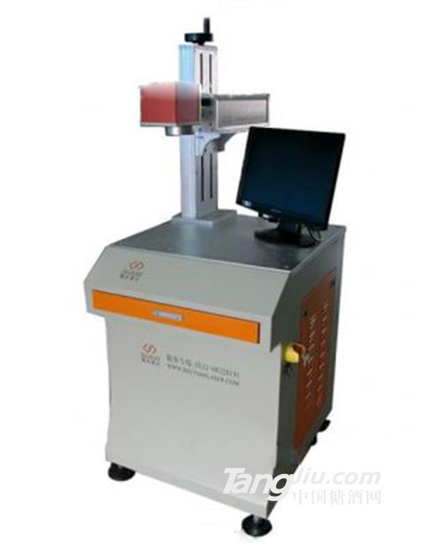 供应条形码二维码激光打标机包装设备