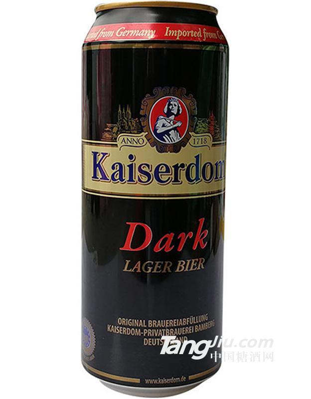 德国拉罐凯撒黑啤酒500ml