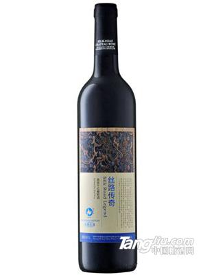 丝路酒庄 传奇高级干红葡萄酒