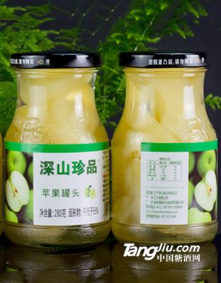 深山秀-苹果罐头(12瓶_箱)-280克
