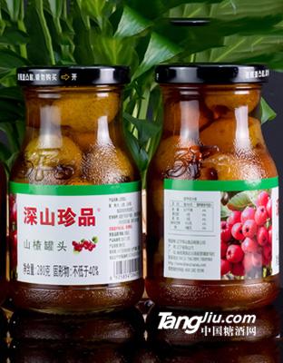 深山秀-山楂罐头(12瓶_箱)-280克