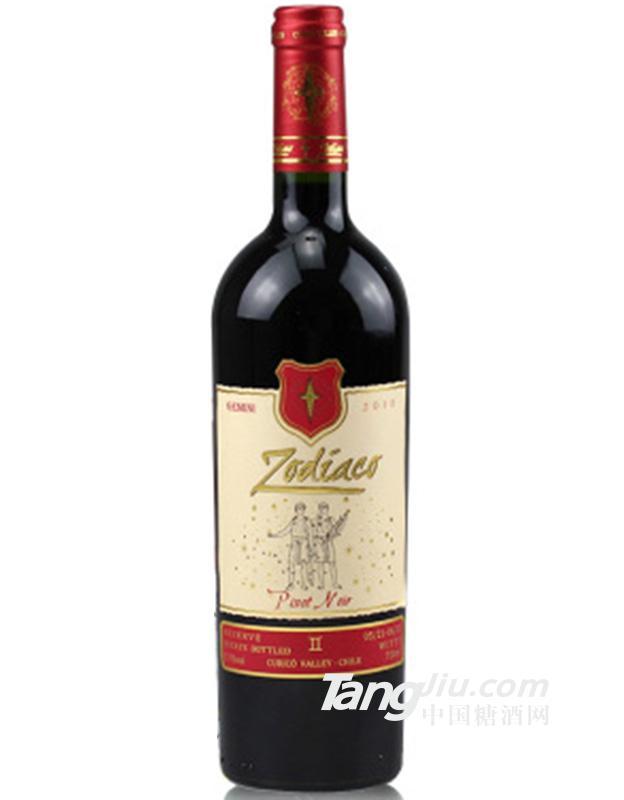 智利星座人生黑皮诺干红葡萄酒