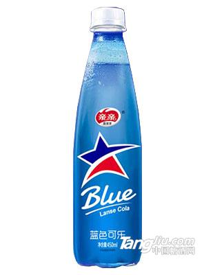 亲亲蓝色可乐450ml