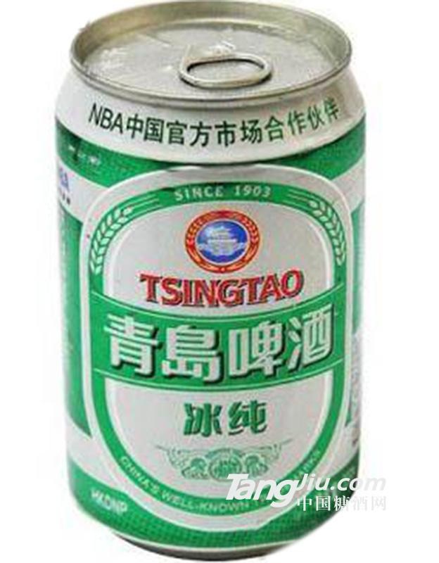 青岛啤酒冰纯易拉罐