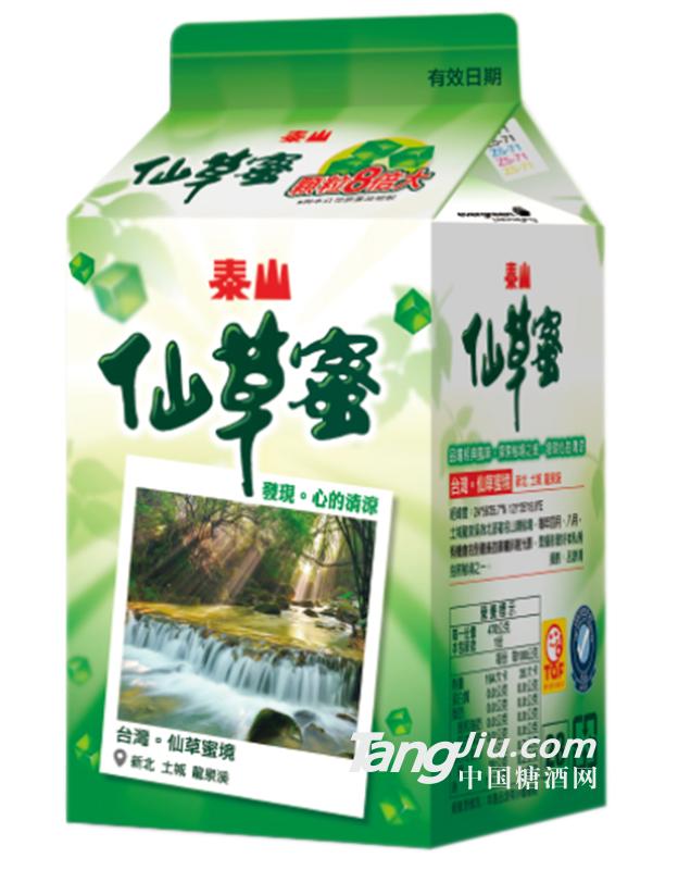 泰山仙草蜜盒装