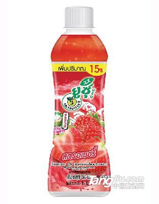 乐哆士草莓汁