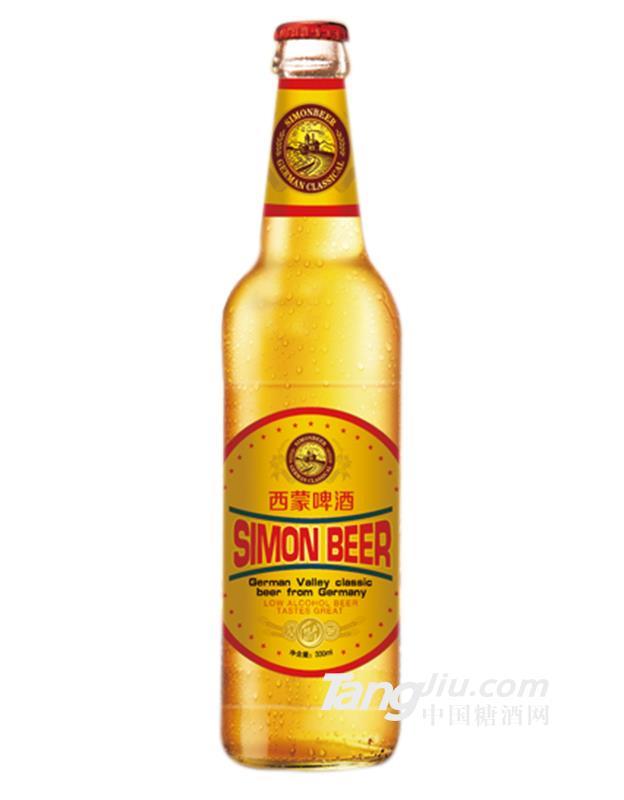 西蒙王者风范啤酒-330mlx24瓶