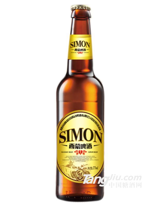 西蒙鸿运啤酒-275mlx24瓶