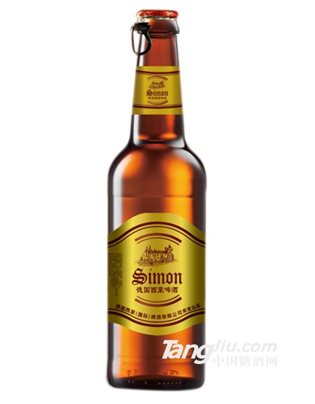 西蒙城堡啤酒(侧拉环盖)-218mlx24瓶