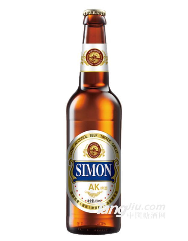 西蒙AK啤酒-330mlx24瓶