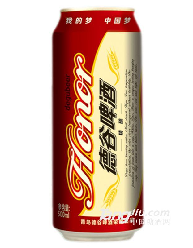 德谷精酿中国红啤酒500mlx12罐-火热代理