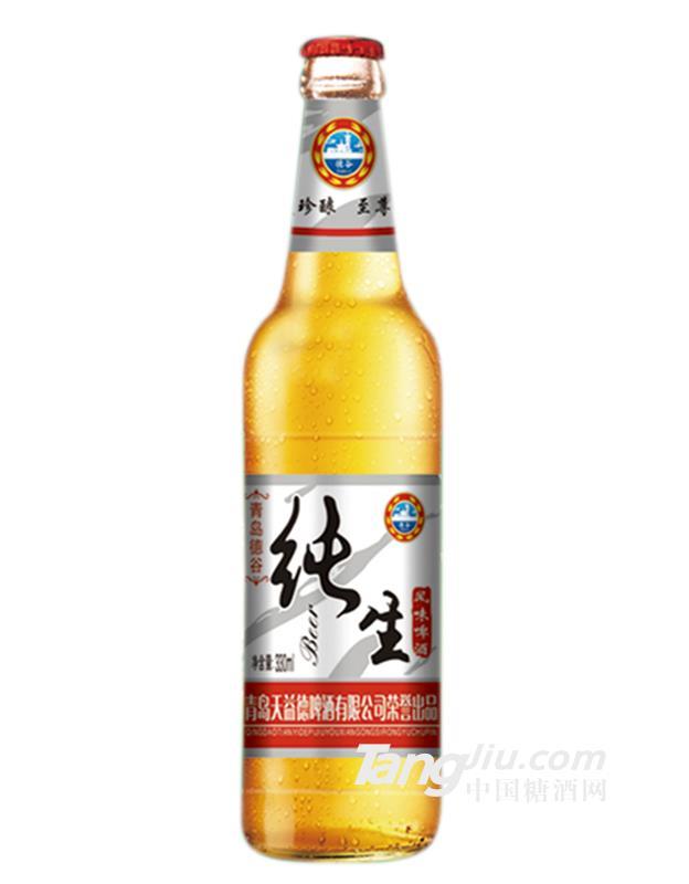 德谷纯生经典啤酒-330mlx24瓶