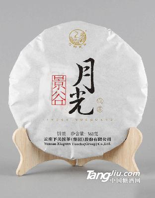 360克纸盒提盒装景谷月光白茶2017