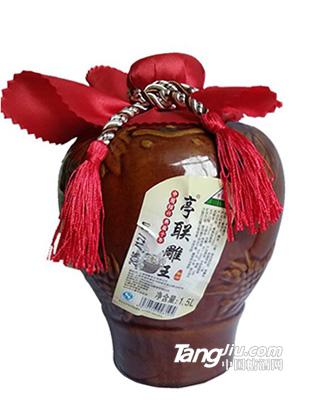 亭联十年亭联雕王酒1.5L