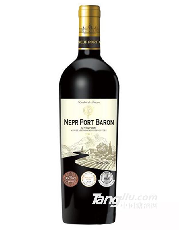 14°法国诺波特男爵干红葡萄酒750ml
