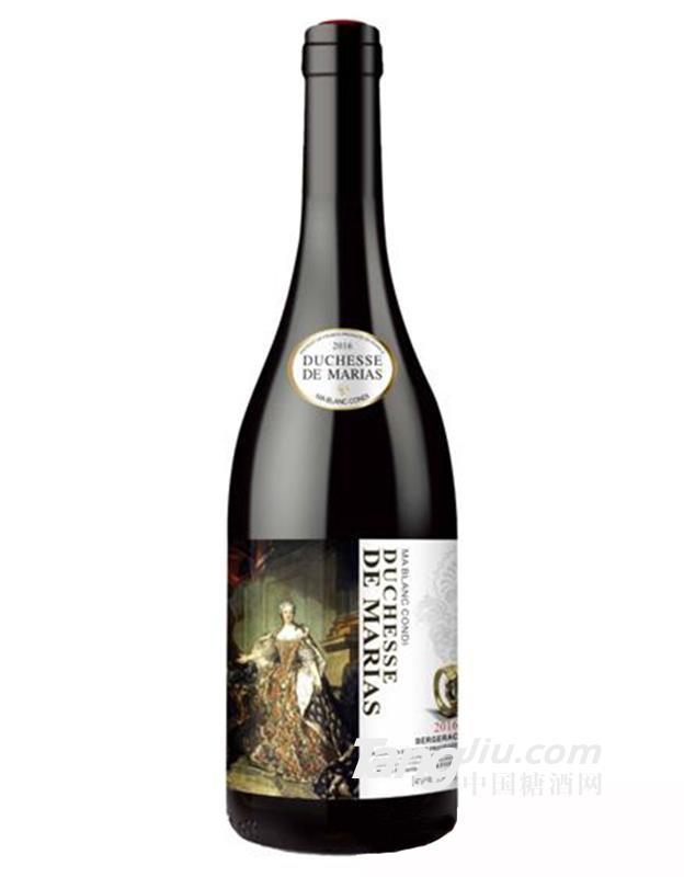 14°白马康帝玛丽女爵干红葡萄酒750ml