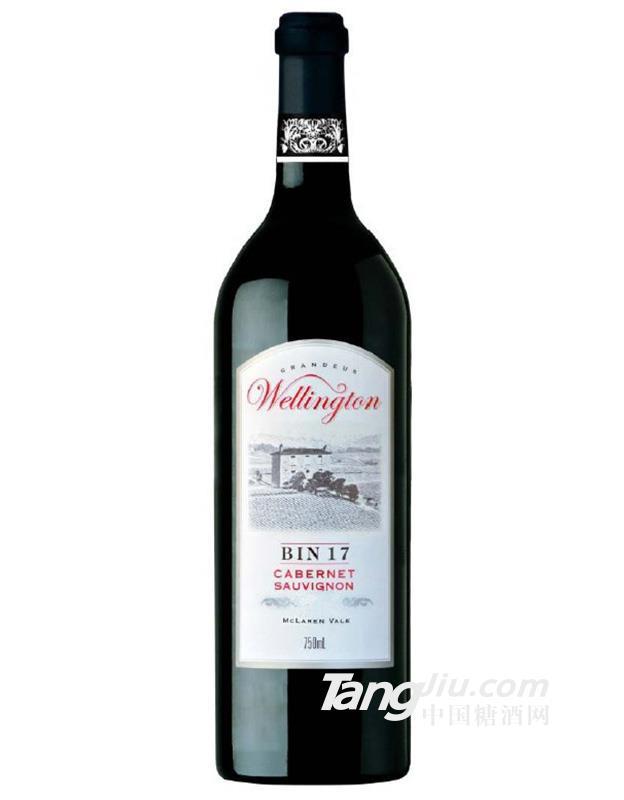 威灵顿Bin 17赤霞珠干红葡萄酒