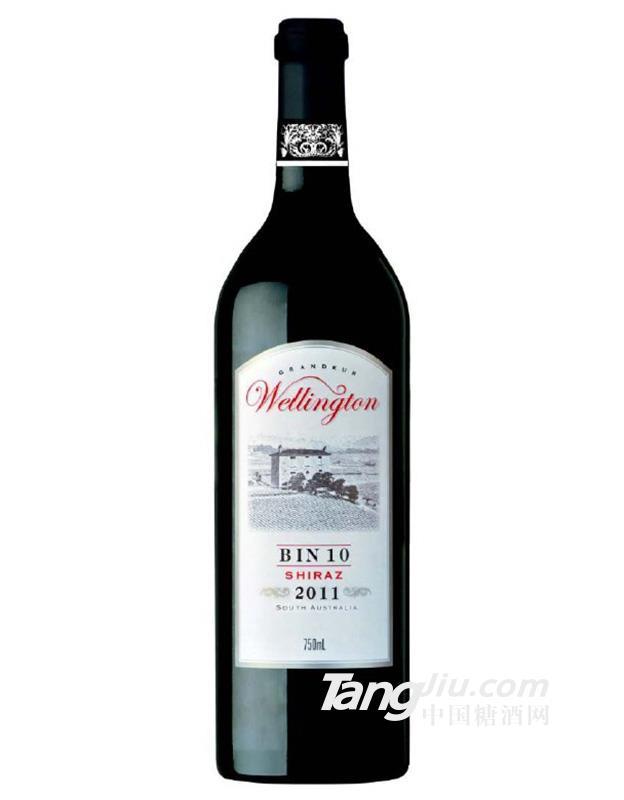 威灵顿Bin 10西拉干红葡萄酒