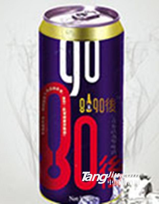8090后啤酒蓝罐500ml