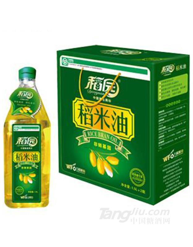 一级稻米油1.5L-稻园