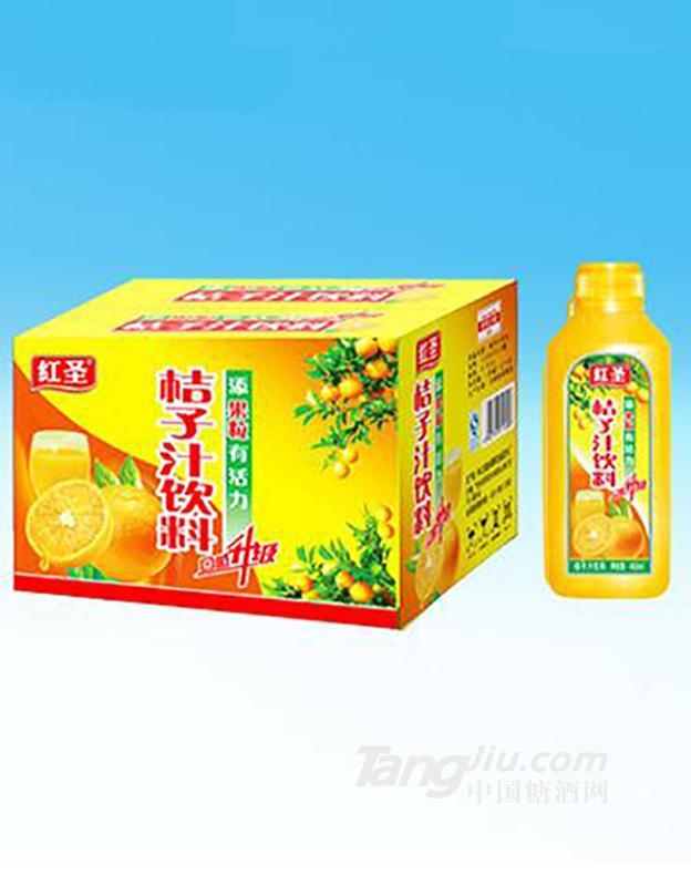 红圣桔子汁饮料450ml