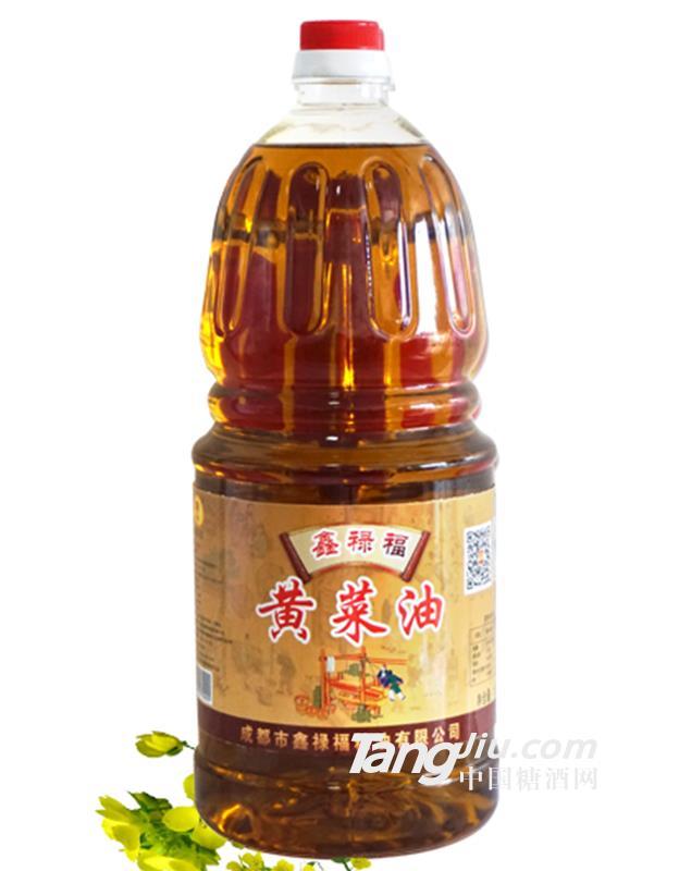 鑫禄福黄菜油2.5l