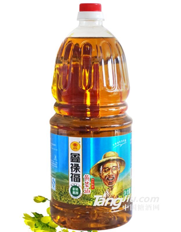 鑫禄福非转基因黄菜油2.5l