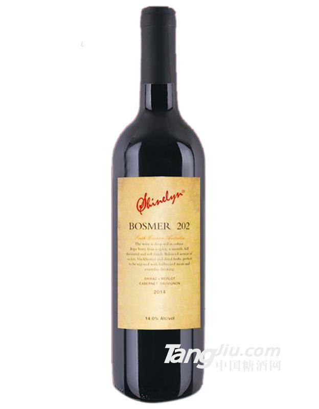 轩奈柏曼202西拉梅洛赤霞珠干红葡萄酒