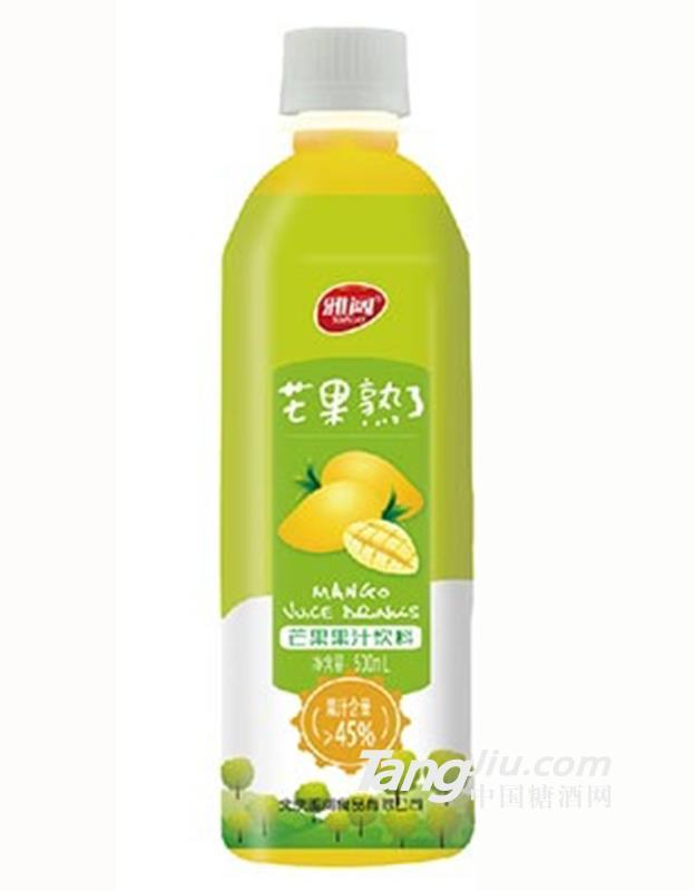 雅阔芒果熟了果汁饮料500ml