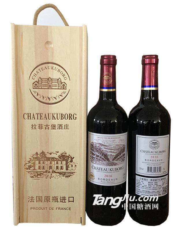 古堡酒庄2015斯波朗干红葡萄酒