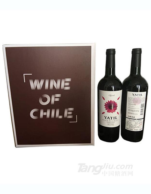 雅帝尔西拉干红葡萄酒