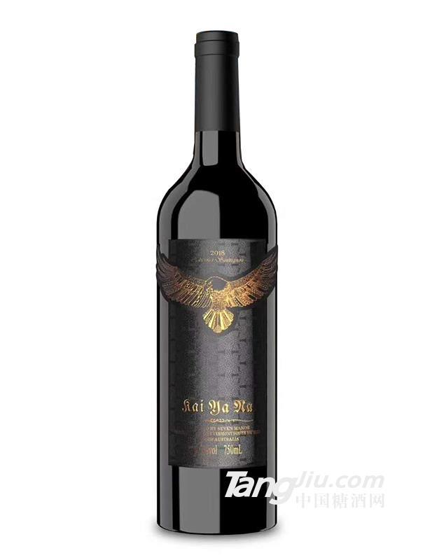 凯雅纳鹰翼赤霞珠干红葡萄酒