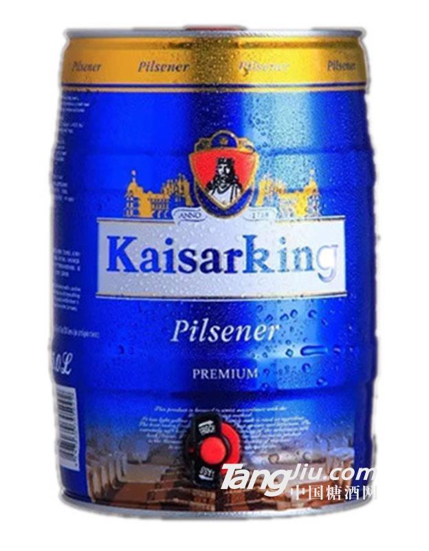凯撒王黄啤酒-5L