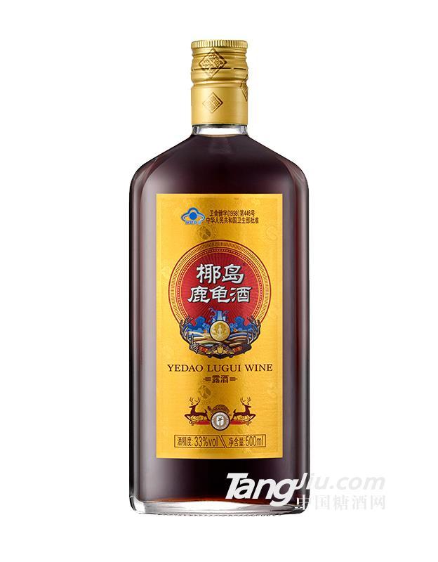 33°椰岛鹿龟酒500ml