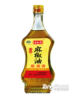 老椒道汉源麻椒油400ml