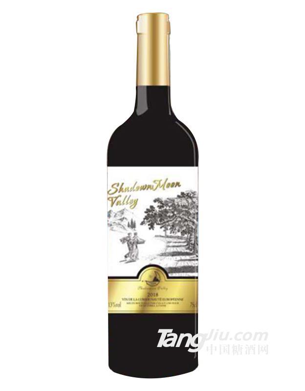 德州影月谷幸运传说干红葡萄酒750ml