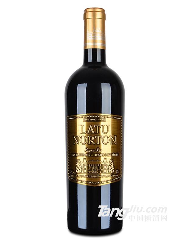 14.5°法国波尔多AOC 拉图诺顿干红葡萄酒750ml