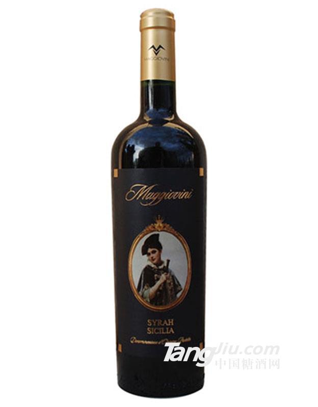 五月花13.5°公主西拉干红葡萄酒